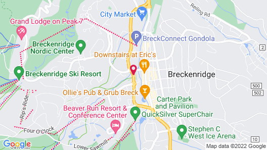 River Mountain Lodge by Breckenridge Hospitality Map