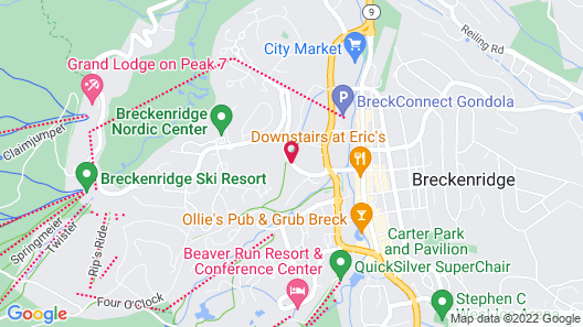 SkiWay Lodge Map