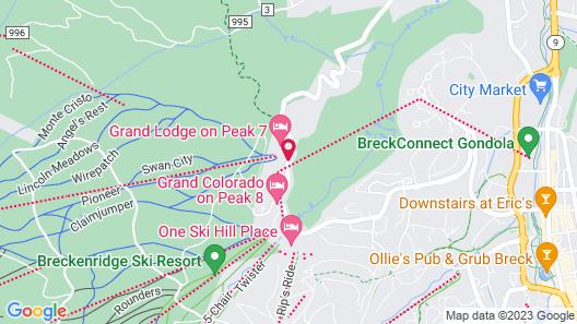 Crystal Peak Lodge Map