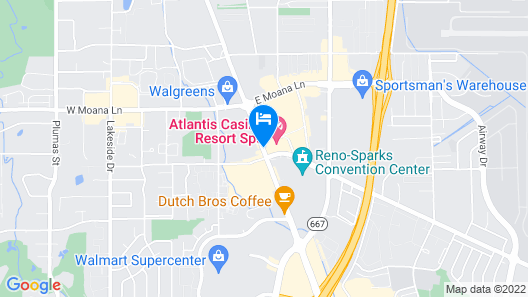 Atlantis Casino Resort Spa Map