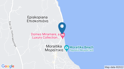 Domes Miramare, a Luxury Collection Resort, Corfu - Adults Only Map