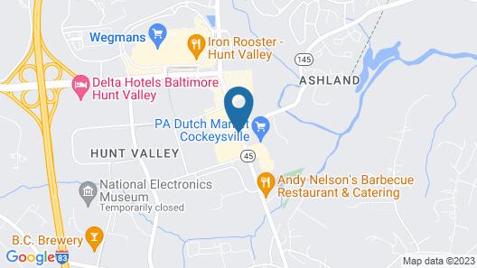Holiday Inn Express Hunt Valley, an IHG Hotel Map