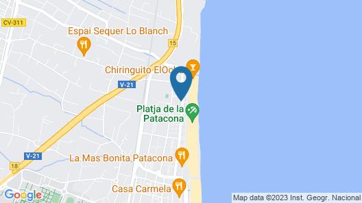 Patacona Green Flats Map