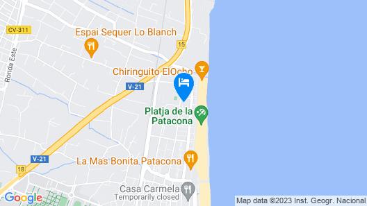 Patacona Resort Map
