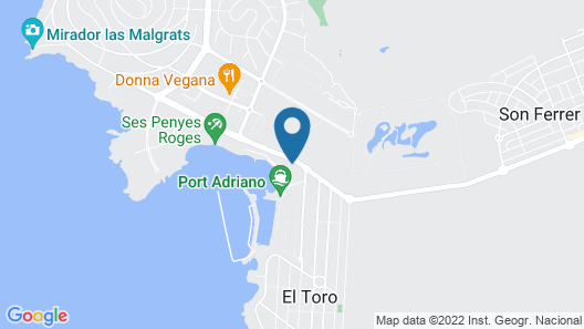 Pure Salt Port Adriano Hotel & SPA - Adults Only Map