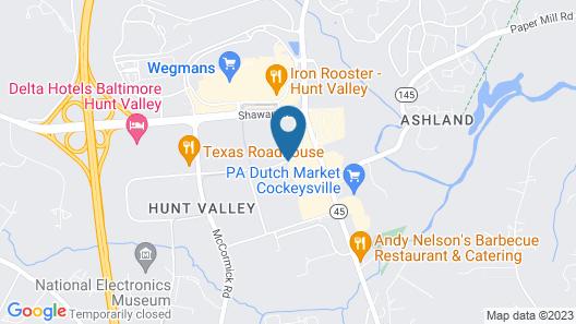 Residence Inn by Marriott Baltimore Hunt Valley Map