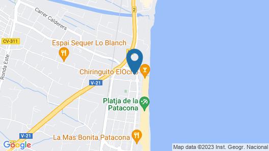 Patacona Resort Apartments Map