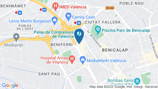 Melia Valencia Map