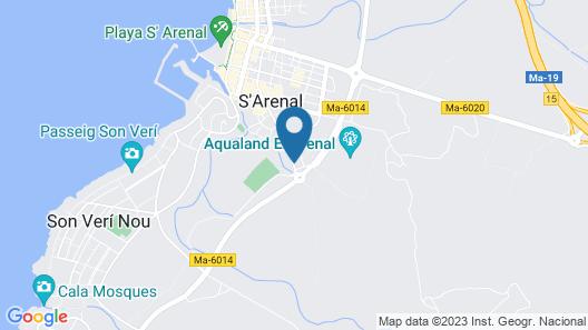 Blue Sea Costa Verde Map