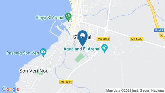 Hotel Manaus Map