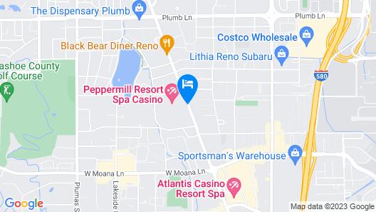 Peppermill Resort Spa Casino Map