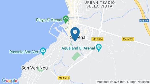 Hotel Seramar Luna - Luna Park (Adults Only) Map