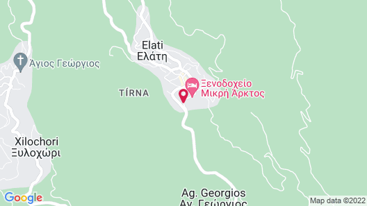 Kroupi Hotel Map