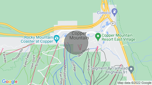 Coppermtn - Tc210. Excellent Value for Slopeside Location!! Map