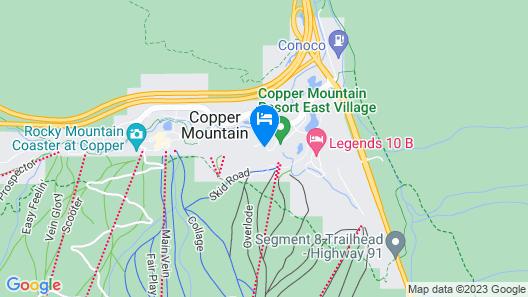 Fox Pine Lodge Hotel Room 2 Map