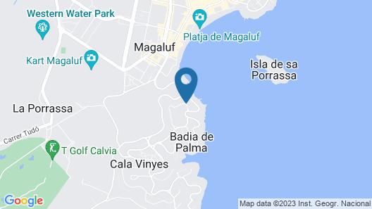 Villa Bahia de Palma Map