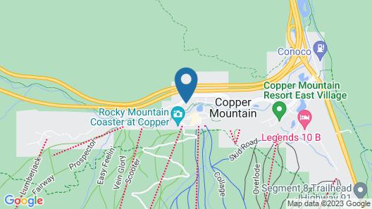 Coppermtn - Pp306. Ski Mountain Views, 3-min Walk to Lifts! Map