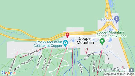Passage Point at Center Village by Copper Mountain Lodging Map