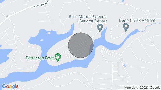 Lovin Life Too 5br, 4BA Lake Access, Boat Slip, hot Tub,fire pit 5 Star Map