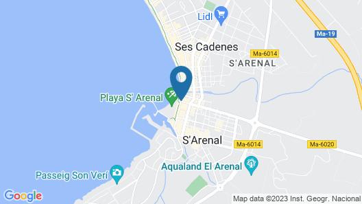 whala!beach Hotel & Apartments Map