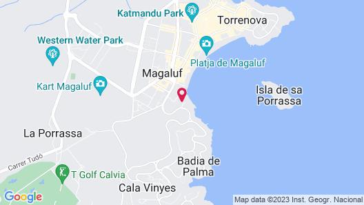 Melia Calviá Beach Map