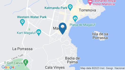 Melia South Beach Map