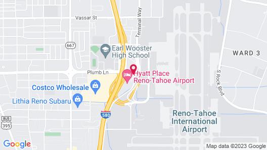 Aloft Reno-Tahoe International Airport Map