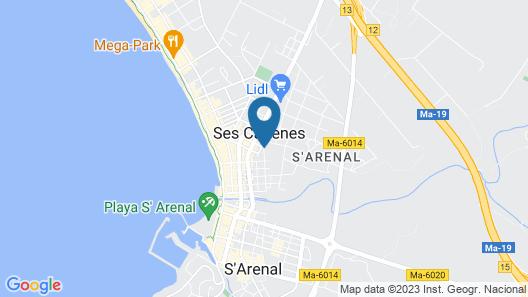MLL Palma Bay Club Resort Hotel Map