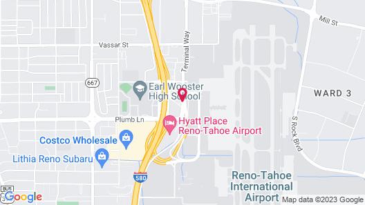 SureStay Plus Reno Airport Plaza Hotel Map