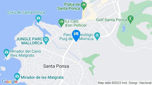 VILLA ES PORT SANTA PONÇA Map