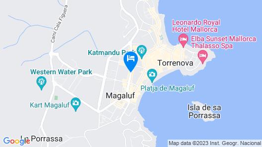 Hotel Samos Map