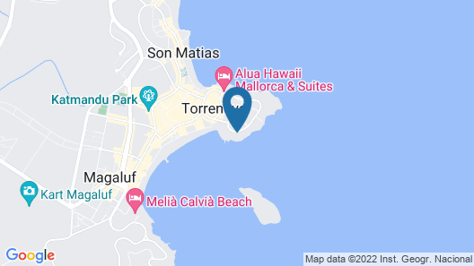 Hotel Florida Magaluf - Only Adults Map