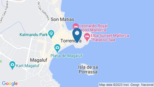 Bahia Principe Sunlight Coral Playa Map