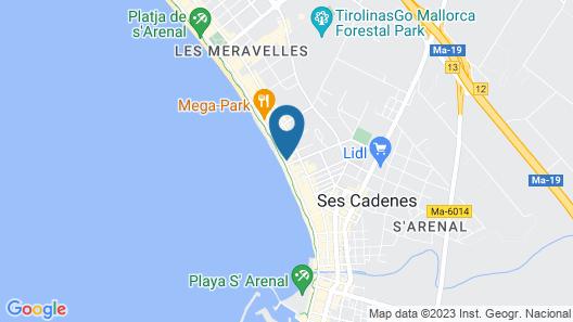 AYA Seahotel Map