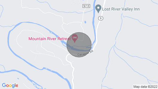 Mountain River Retreat Map