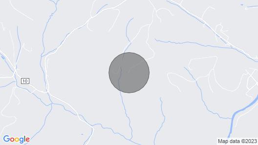 New- Sonny Side - Hilltop 10 Acre Cabin Retreat Map