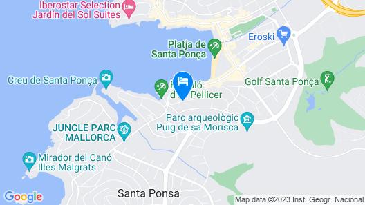 103945 -  Villa in Santa Ponsa Map