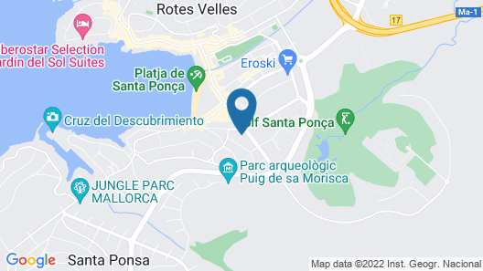 Plazamar Serenity Resort Map