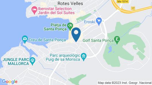 Apartamentos Casa Vida Map