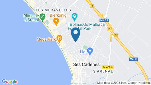 Grupotel Taurus Park Map