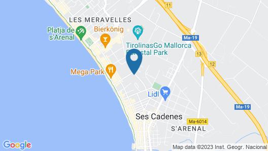 Iberostar Selection Llaut Palma Map