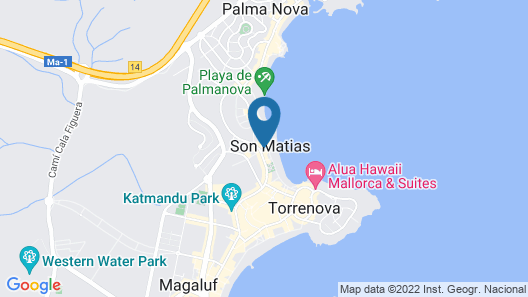Hotel Son Matias Beach - Adults Only Map