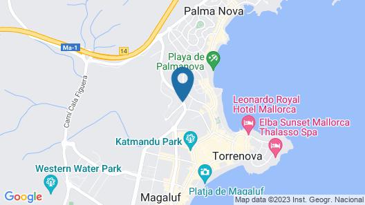 MarSenses Rosa del Mar Hotel & Spa Map