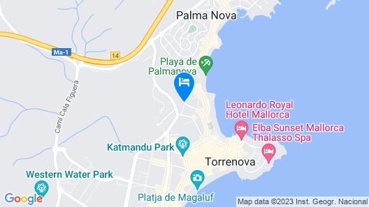 Sol Palmanova Mallorca  Map
