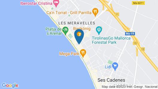 Hotel Playa Golf Map