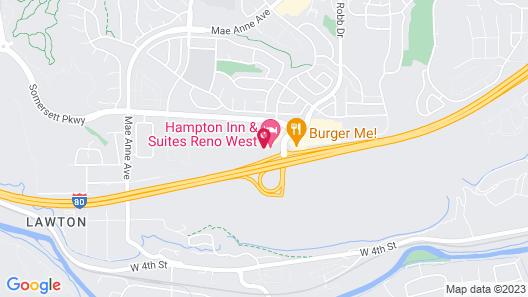 Hampton Inn & Suites Reno West Map