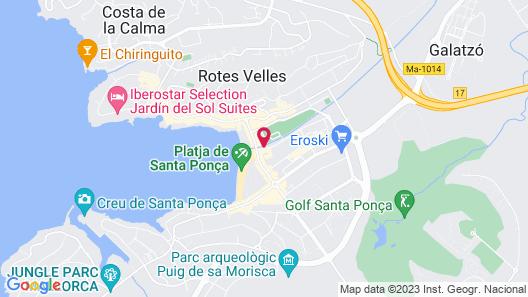 H10 Casa del Mar Map