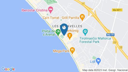 Hotel Riu Concordia Map