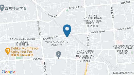 Holiday Inn Express Langfang Park View, an IHG Hotel Map