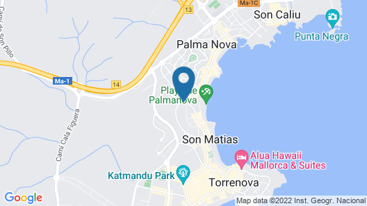 Lively Mallorca - Adults Only Map